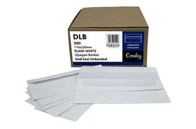 Croxley DLB White Seal Easi Unbanded Envelopes (Box of 500)