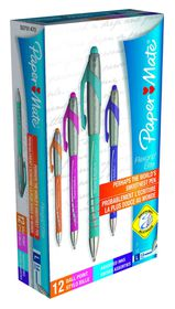Paper Mate Flexgrip Elite Ball Pen - Assorted Fun (Box of 12)