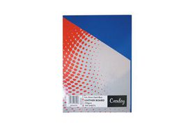 Croxley Binding Leather Board 250gsm - Gloss Navy Blue (Pack of 100)