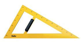 Helix Blackboard Set Square Plastic - 60 Degrees