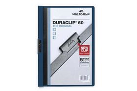 Durable Duraclip 60 Page Folder - Midnight Blue