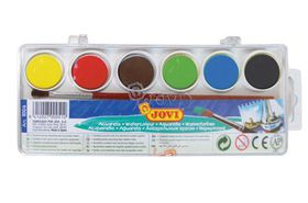 Jovi Watercolour Paints - 6 Colours