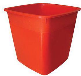 Lion Brand 17L Plastic Bin - Red