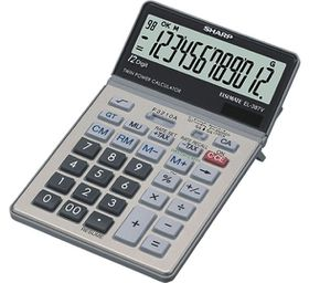 Sharp EL-387V Desktop Calculator
