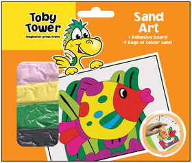 Toby Tower Sand Art - Fish