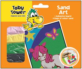 Toby Tower Sand Art - Pony
