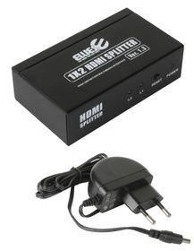 Ellies HDMI 2 Way Splitter - 1 Input - 2 Output