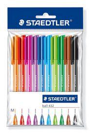 Staedtler 10 Ballpoint Pens