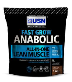 USN Fast Grow Anabolic - Chocolate 1Kg