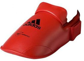 adidas WKF Karate Foot Protector - Red