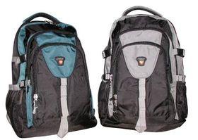 Tosca 1680D Large Outdoor Hiking Bag - Black