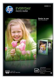 HP CR757A Everyday Glossy Photo Paper - 10cm x 15cm