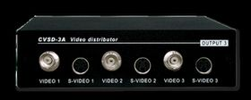 CYP 1 In 3 Out Video/S- Video Distributor And Audio