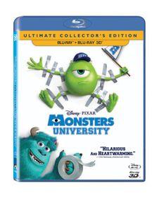 Monsters University (3D & 2D Blu-ray)