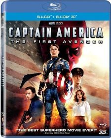 Captain America: The First Avenger (3D & 2D Blu-ray)