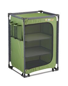 OZtrail - 3 Shelf Camp Cupboard - Green