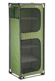 OZtrail - 5 Shelf Camp Cupboard - Green