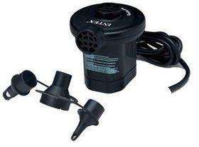Intex - 220 - 240 Volt Quick-Fill Electric Pump - Black