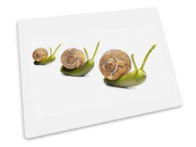 Joseph Joseph - Worktop Saver Glass Chopping Board - Snails Design