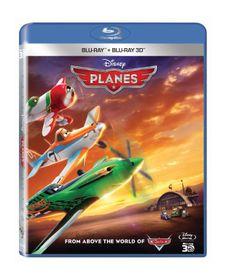 Walt Disney's Planes (3D & 2D Blu-ray)