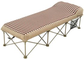 OZtrail - Anywhere Single Bed - Brown