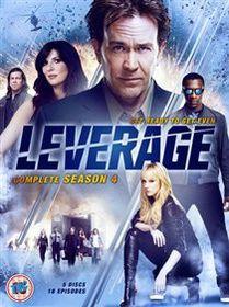 Leverage: Complete Season 4 (Import DVD)