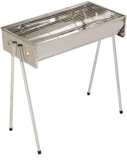 Portable Braai Stand Designs : Metalix stainless steel braai large buy online in
