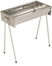 Metalix - Stainless Steel Braai - Large