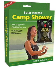 Coghlan's - Camp Shower - Black