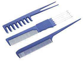 Lucky Supa Three Comb Set