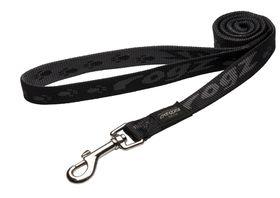 Rogz Large Alpinist K2 Fixed Dog Lead - 20mm Black