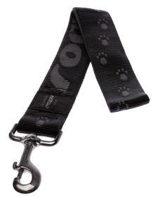 Rogz Alpinist Big Foot Fixed Dog Lead Extra-Extra Large - 40mm Black