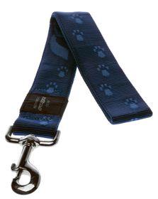 Rogz Alpinist Big Foot Fixed Dog Lead Extra-Extra Large - 40mm Blue