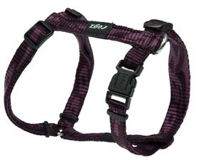 Rogz Small Alpinist Kilimanjaro Dog H-Harness - 11mm Purple
