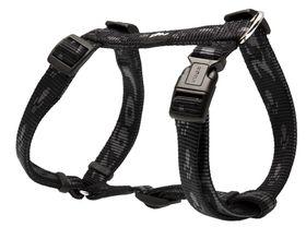 Rogz Medium Alpinist Matterhorn Dog H-Harness - 16mm Black