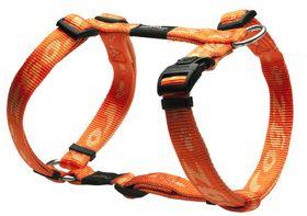 Rogz Large Alpinist K2 Dog H-Harness - 20mm Orange