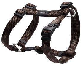 Rogz Alpinist K2 Dog H-Harness Large - 20mm Chocolate