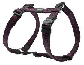 Rogz Alpinist Everest Dog H-Harness Extra Large - 25mm Purple