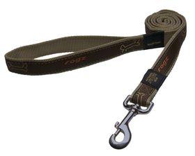 Rogz Fancy Dress Armed Response Dog Collar Extra Large -25mm Bronze Bone