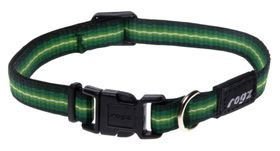 Rogz Pavement Special Midget Dog Collar Small - 11mm Green
