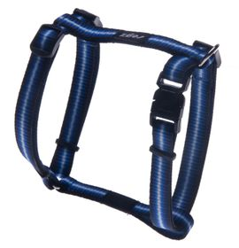 Rogz Pavement Special Midget Dog H-Harness Small -11mm Blue