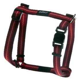 Rogz Pavement Special Midget Dog H-Harness Small - 11mm Red