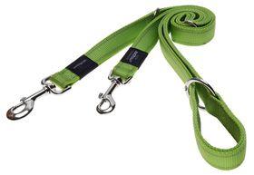 Rogz - Utility Lumberjack Multi-Purpose Dog Lead - Extra-Large 2.5cm - Lime Reflective