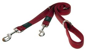 Rogz Utility Nitelife Multi-Purpose Dog Lead Small - 11mm Red Reflective