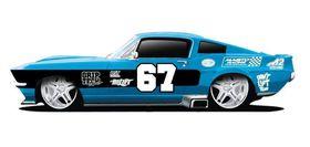 Maisto 1-24 Motosounds Ford Mustang GT