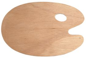 Dala Wooden Kidney Palette - Medium