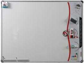 Parrot Whiteboard Slimline Magnetic - White (Retail Pack) - 1200 x 900mm