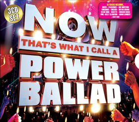 Now That's What I Call A Power Ballad - Various Artists (CD)