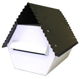 Fragram - Electro GAlva -nised Letter Box - Black