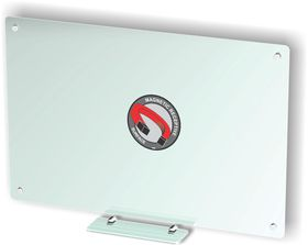 Parrot Glass Whiteboard Magnetic - White 1500 x 1200mm